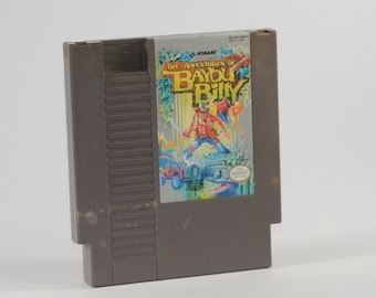Vintage Nintendo Game Adventures of Bayou Billy 1989
