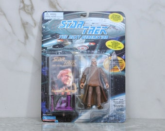 Vintage Star Trek Action Figure, Dr Noonian Soong, Cyberneticist Creator of Data, 6070 6038 1994,The Next Generation