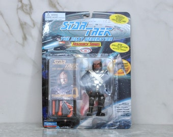 Vintage Star Trek Action Figure The Next Generation, Lieutenant Worf 6950 6985 1994