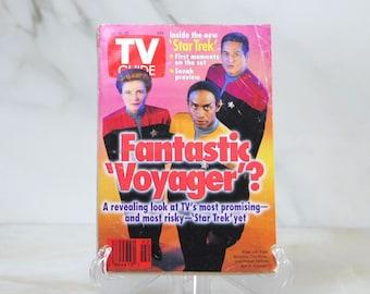 Vintage TV Guide Star Trek Voyager Fantastic Voyage January 1995