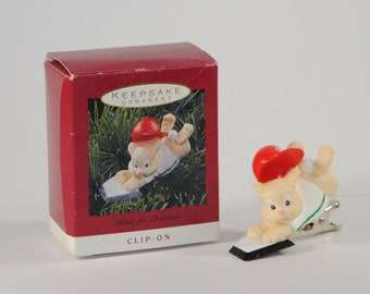 Vintage Hallmark Keepsake Christmas Ornament, Home For Christmas, 1993