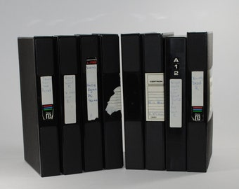 Vintage VHS Tape Cases for storing your VHS Tapes