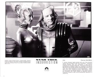 Vintage Star Trek Photograph, F Murray Abraham, Ru'afo, Black and White, Insurrection, 1998, Hollywood Décor, Movie Advertisement, Star Trek
