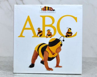 Vintage Children's Book, Anne Geddes ABC 1995