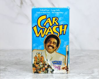Vintage VHS Tape Car Wash 1976 - Los Angeles - Richard Pryor - Daddy Rich - Darrow Igus - Otis Day - James Spinks - Antonio Fargas