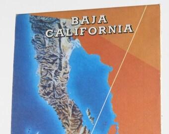 Vintage AAA Guide to Baja  1980s California