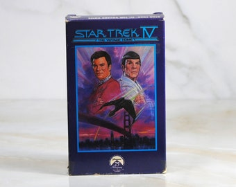 Vintage Star Trek IV: The Voyage Home Betamax Tape Signed by Mark Lenard 1986, Sarek, Klingon, Spocks Father Vintage Trek, Next Generation