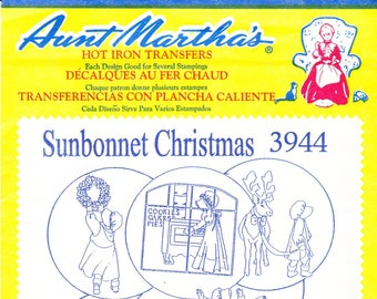 Vintage Aunt Martha's Hot Iron Transfers 3788, Decorator Motifs