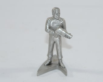 Vintage Star Trek Pewter Chief Engineer Scott 1993, Rawcliffe Pewter RF-1770