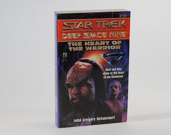 Vintage Star Trek Book, The Heart Of The Warrior No 17 1996 Paperback