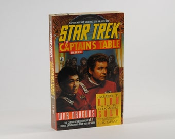 Vintage Star Trek Book, The Captain's Table Book 1 of 6 1998 Paperback