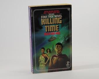 Vintage Star Trek Book, Killing Time No 24 1985 Paperback