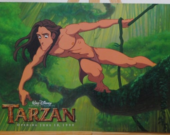 Vintage Disney Cast Member Newspaper, Walt Disney's Tarzan June 18, 1999