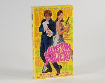 Vintage VHS Tape Austin Powers International Man Of Mystery 1997 starring Mike Myers & Elizabeth Hurley