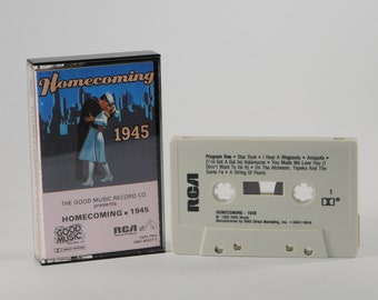 Vintage Cassette Tape Homecoming 1945 1988
