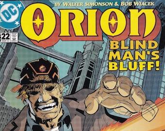 Vintage Comic Orion Blind Man's Bluff Number 22 March 2002