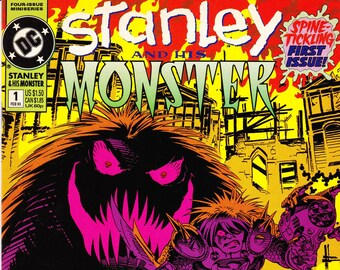 Vintage Comic Book, Stanley And His Monster, Number 1, February 1993, DC Comics