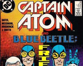 Vintage Comic Book, Captain Atom, Number 20, October 1988, DC Comics