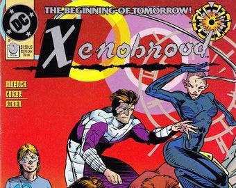 Vintage Comic Book, Xenobrood, Number 0, October 1994, DC Comics