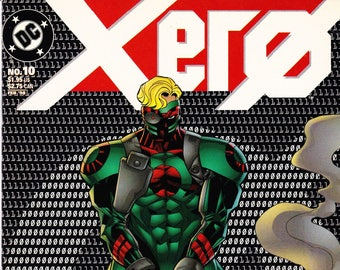 Vintage Comic Book, Xero, Number 10, February, 1998, DC Comics