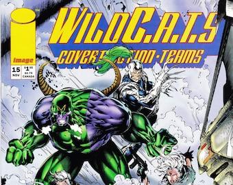 Vintage Comic Book, Wildcats, Number 15, November 1992, Image Comics