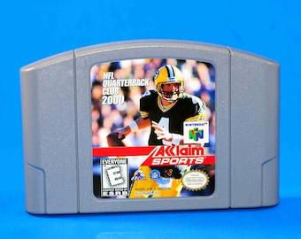 Vintage Nintendo 64 NFL Quarterback Club 2000 1999 N64 Game