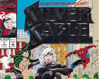 Vintage Comic Book Silver Sable, Volume 1 Number 1 June 1992, Marvel Comics