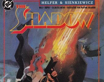 Vintage Comic Book The Shadow Shadows & Light Part 2 August 1987 DC Comics