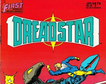 Vintage Comic Book, Dreadstar, Volume 2 Number 28, January 1987, First Comics