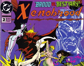Vintage Comic Book, Xenobrood, Number 2, December 1994, DC Comics