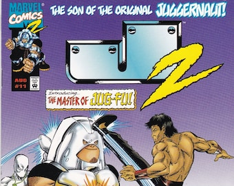 Vintage Comic Book, J2 The Master of Jug-Fu, Volume 1 Number 11  June 1999, Marvel Comics, Comic, Comic Books, Vintage Comic, Vintage Marvel