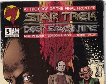 Star Trek Comic Book, Star Trek Deep Space Nine, Number 5, December 1993
