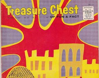 Vintage Treasure Chest Comic Book, She Gave Light, Volume 22 Number 8