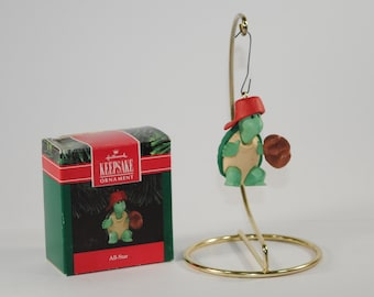 Vintage Hallmark Keepsake Christmas Ornament, All-Star, 1991