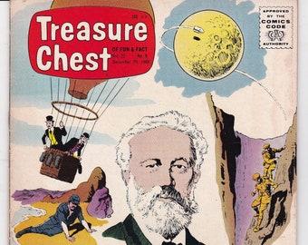 Vintage Treasure Chest Comic Book, George A Pflaum, She Gave Light, Volume 22 Number 9, December 29, 1966