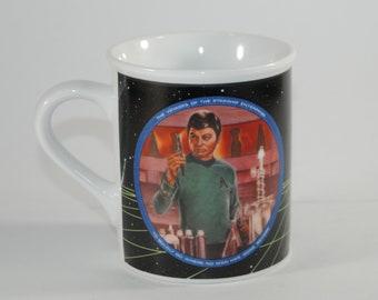 Vintage Star Trek Ceramic Mug, Susie Morton, 1983, Dr McCoy