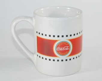 Vintage Coca-Cola Cup by Gibson 1990s