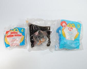 Vintage McDonalds, Happy Meal Toys Set of 3, Kiara, Rocket, Brother Bear