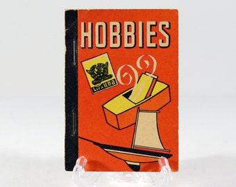 Vintage Whitman Mini Book Hobbies 1938 Made in USA