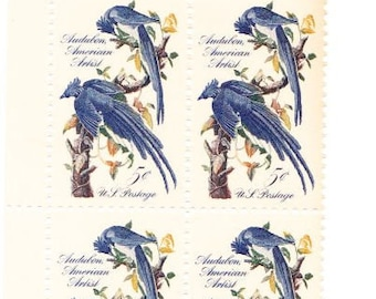 Vintage Postage Stamps James Audubon 1963, 8 5 Cent Stamps, Scott 1241