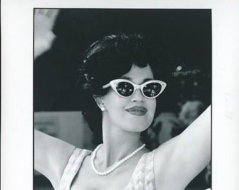 Vintage Photograph Melanie Griffith In Crazy In Alabama 1999, 8x10 Black & White Promotional Photo