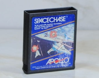 Vintage Atari 2600 Game, Spacechase, Apollo, 1981