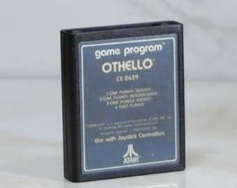 Vintage Atari 2600 Game, Othello, JP Kawada, 1980