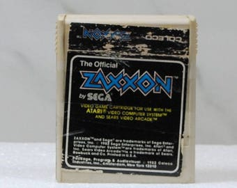 Vintage Atari 2600 Game, Zaxxon, 1983