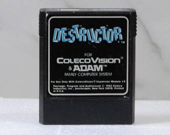 Vintage Atari 2600 Game, Destructor, ColecoVision, 1983