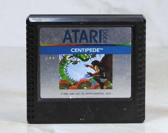 Vintage Atari 5200 Game, Centipede, Atari, 1982