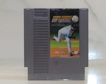 Vintage Nintendo Game Roger Clemens' MVP Baseball, 1991