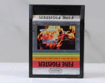 Vintage Atari 2600 Game, Fire Fighter, iMagic, 1982