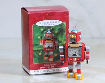 Vintage Ornament, Hallmark Robot Parade, 2000, 1st In Series, 1950s Sci-Fi, Christmas Ornament, Tree Ornament, Christmas Decoration