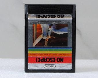 Vintage Atari 2600 Game, No Escape, Imagic, 1984